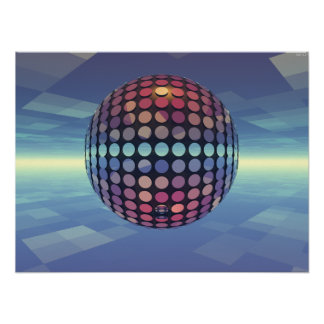 Mirror Ball Poster