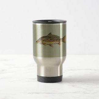 Mirror carp travel mug