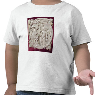 Mirror case depicting a game of chess, c.1300 tee shirt
