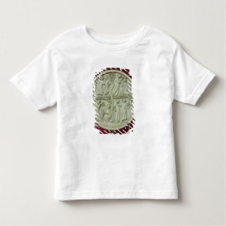 Mirror case depicting courtly scenes, c.1320-30 toddler T-Shirt