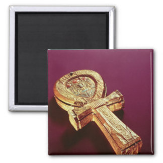 Mirror case in the form of an ankh 2 square magnet