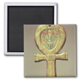 Mirror case in the form of an ankh square magnet