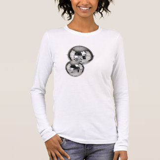 Mirror-Disco-Ball Long Sleeve T-Shirt