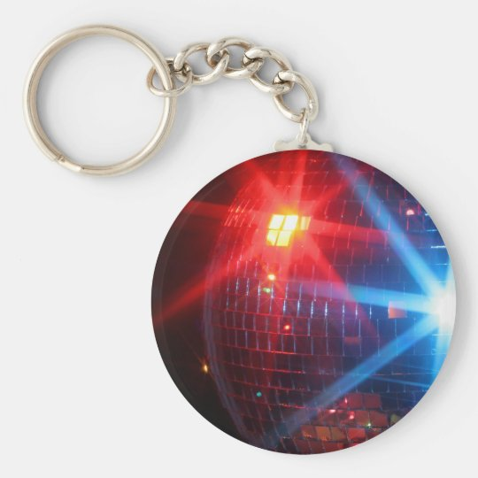 Mirror disco rotating ball with laser lights key