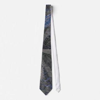 Mirror Garden Tie