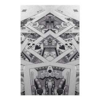 Mirror Image Playing Cards Stationery Paper