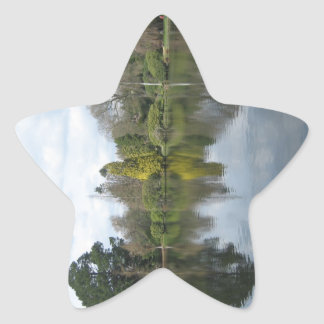 Mirror Image Star Sticker