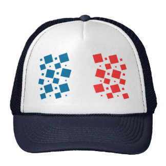 Mirror Inspired by France Flag Cap