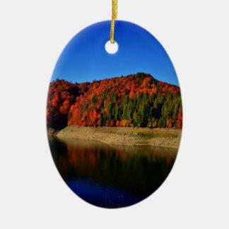 Mirror Lake Christmas Ornament
