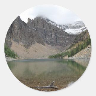Mirror Lake Classic Round Sticker