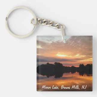 Mirror lake key ring
