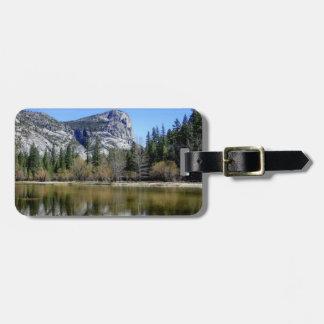 Mirror Lake Luggage Tag
