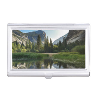 Mirror Lake, Yosemite Business Card Holder