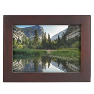 Mirror Lake, Yosemite Memory Boxes