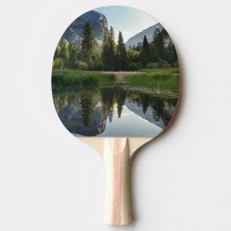 Mirror Lake, Yosemite Ping Pong Paddle