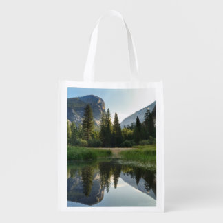 Mirror Lake, Yosemite Reusable Grocery Bag
