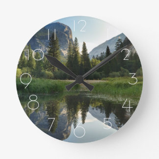 Mirror Lake, Yosemite Round Clock
