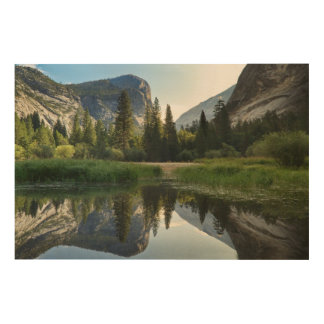 Mirror Lake, Yosemite Wood Wall Decor