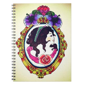 mirror mirror note pad spiral notebook