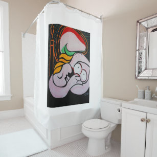 MIRROR ON THE WALL SHOWER CURTAIN