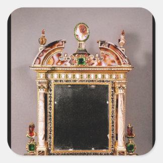 Mirror of Marie de Medici Square Sticker