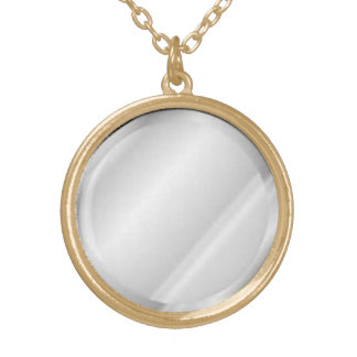 Mirror Pendant Necklace