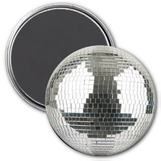 Mirrorball Disco Ball 7.5 Cm Round Magnet