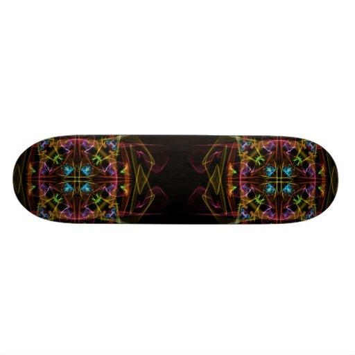 Mirrored Blast Skateboard Deck