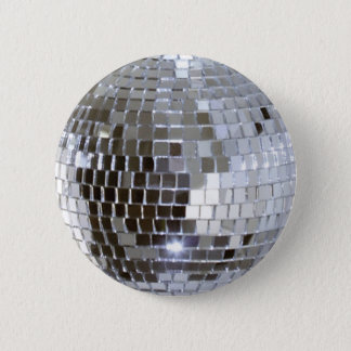 Mirrored Disco Ball 1 6 Cm Round Badge