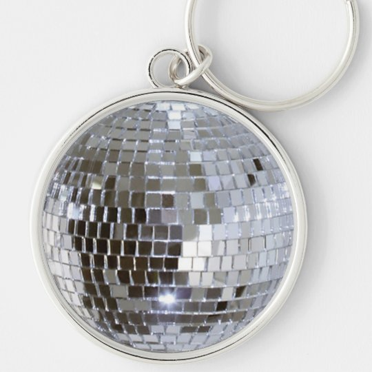 Mirrored Disco Ball 1 Key Ring