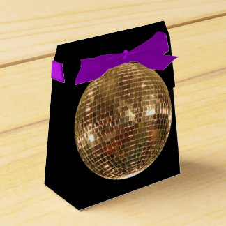 Mirrored Disco Ball 2 Wedding Favour Box