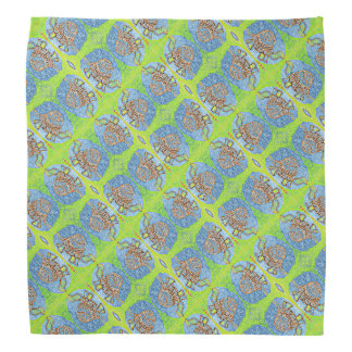 Mirrored Turles Pattern Kerchief