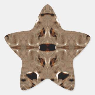 mirroruniverse martian symmetry star sticker