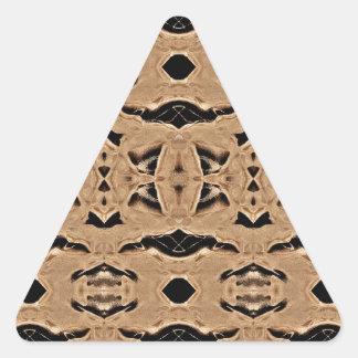 mirroruniverse Martian symmetry Triangle Sticker