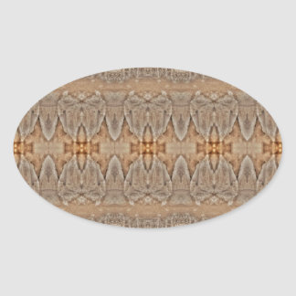 mirroruniverse mountain symmetry oval sticker
