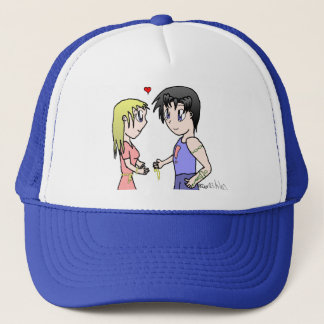 Mis-Matched Couple Trucker Hat