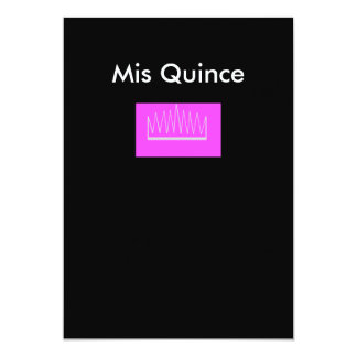 Mis Quince Card