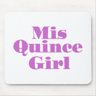 Mis Quince Girl Mouse Pad
