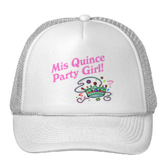 Mis Quince Party Girl Trucker Hats