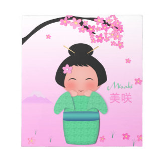 """Misaki (5.5"""" x 6"""") Notepad - 40 pages"""
