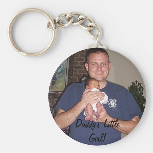 misc pics 102606 228, Daddy's Little Girl! Keychain