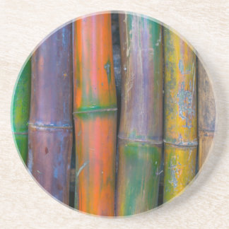 Miscellaneous - Chromatic Bamboos Pattern Drink Coaster