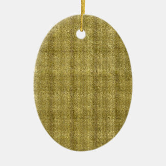 Miscellaneous - Gold Textures Patterns Forty-Nine Ceramic Oval Decoration