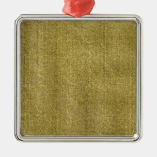 Miscellaneous - Gold Textures Patterns Forty-Nine Silver-Colored Square Decoration