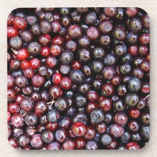 Miscellaneous - Huckleberries Pattern Beverage Coasters