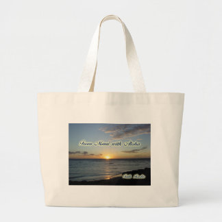 Miscellaneous Items - From Maui with Aloha Jumbo Tote Bag