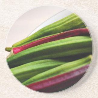 Miscellaneous - Okra Spotlight Pattern Beverage Coasters