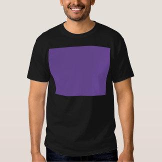 Miscellaneous - Royal Purple Pattern Tee Shirt