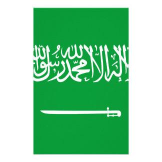 Miscellaneous - Saudi Arabia Pattern Flag Customised Stationery