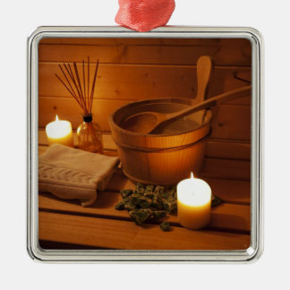 Miscellaneous - Sauna Objects Patterns Nineteen Christmas Ornament